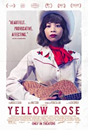 Movie Poster for Yellow Rose.