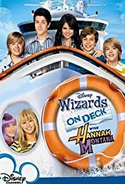 Wizards on Deck with Hannah Montana Poster