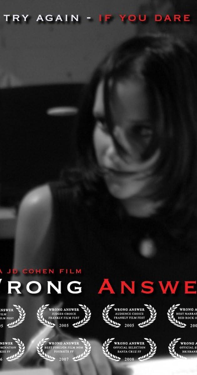 608791641f69 Wrong Answer (2005) - News - IMDb