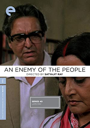 Satyajit Ray An Enemy of the People Movie