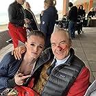 Larry Lamb and Casey James Croft in Brighton (2019)