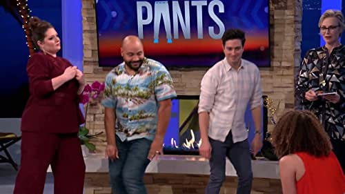 Hollywood Game Night: Colton Dunn And Donald Faison Play Dance In Your Pants