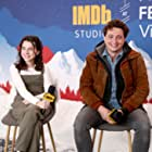 Benh Zeitlin and Devin France at an event for The IMDb Studio at Acura Festival Village (2020)