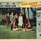 Debbie Reynolds, Curd Jürgens, Hayden Rorke, John Saxon, Alexis Smith, and Estelle Winwood in This Happy Feeling (1958)