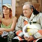Debra Winger and M. Emmet Walsh in Wilder Napalm (1993)