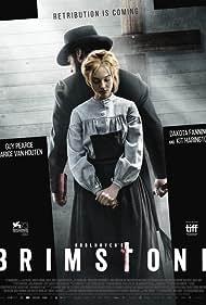 Guy Pearce and Dakota Fanning in Brimstone (2016)