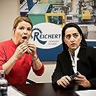 Annette Frier and Elmira Rafizadeh in Date mit der Vergangenheit (2019)