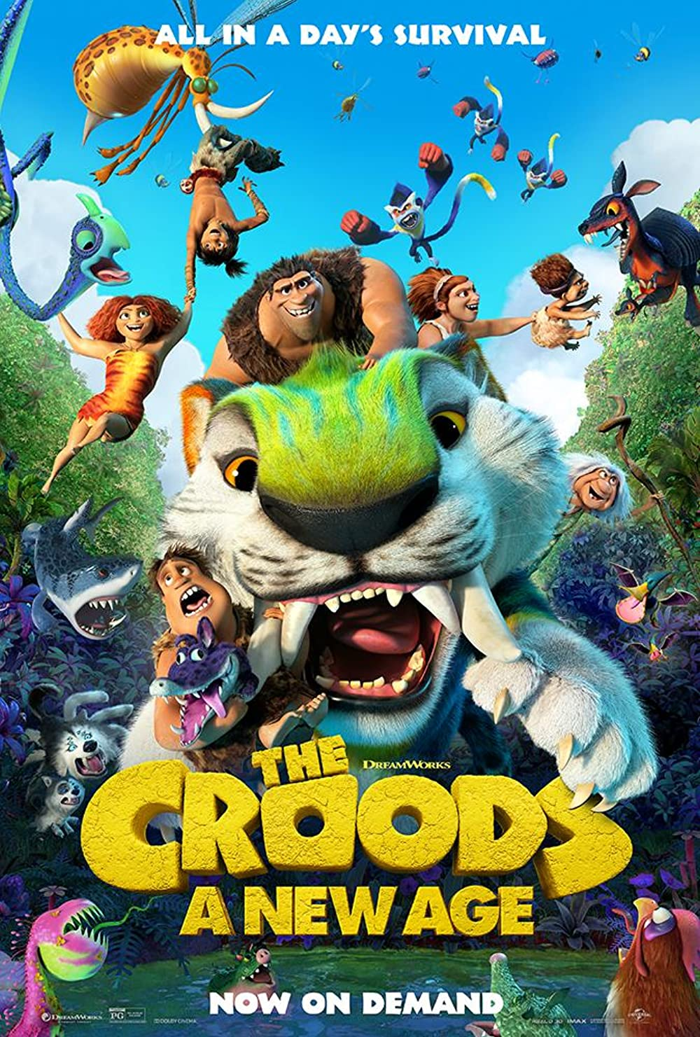 The Croods A New Age 2020 3D English 720p BluRay 647MB Download