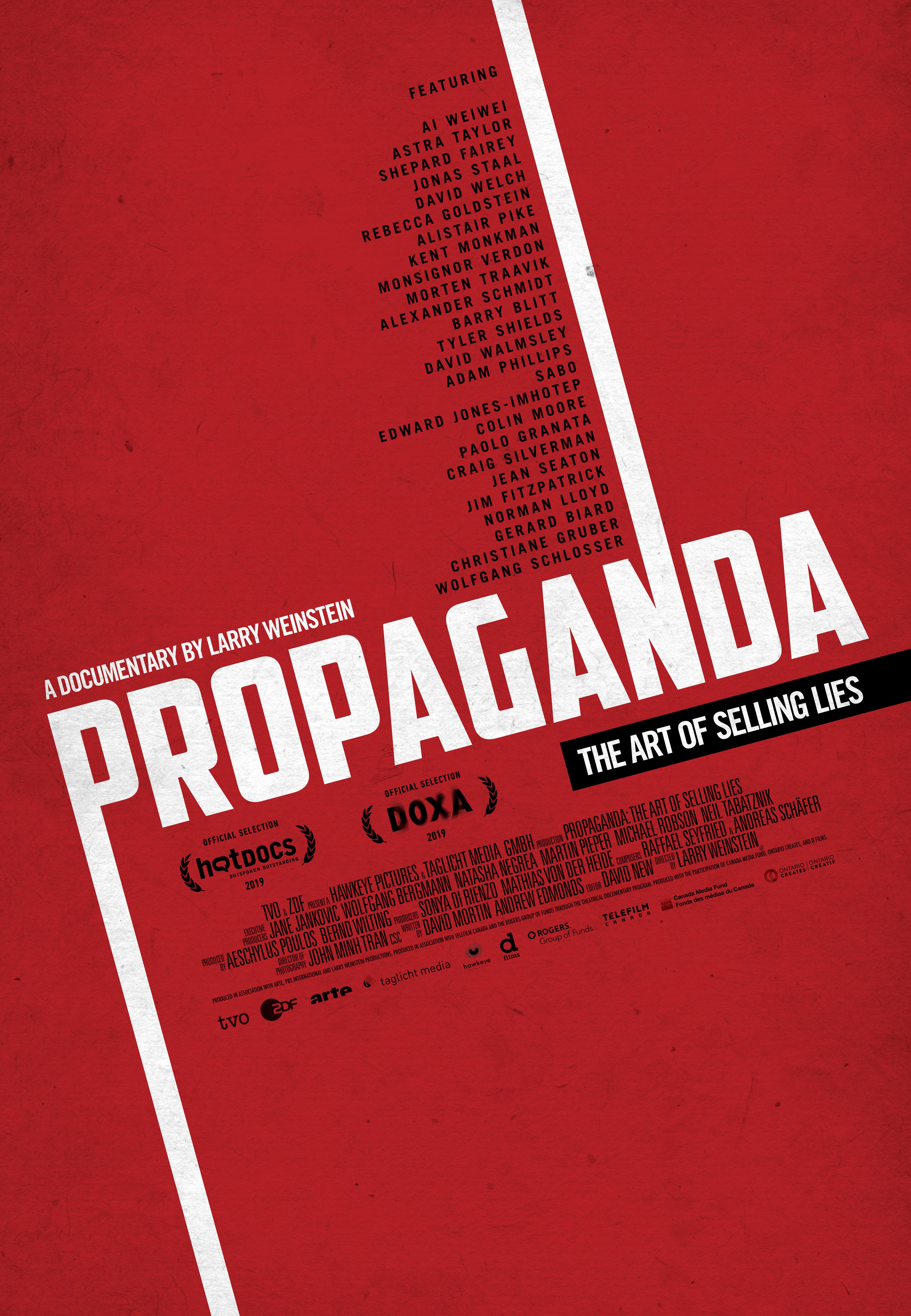 Propaganda: The Art of Selling Lies (2019) - IMDb