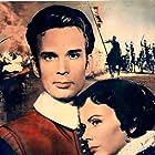 Anita Björk and Götz von Langheim in Der Cornet - Die Weise von Liebe und Tod (1955)