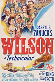 Vincent Price, Charles Coburn, Mary Anderson, William Eythe, Geraldine Fitzgerald, Cedric Hardwicke, Alexander Knox, Thomas Mitchell, and Ruth Nelson in Wilson (1944)