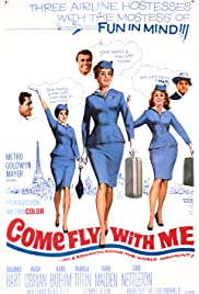 Come Fly with Me (1963) Poster - Movie Forum, Cast, Reviews