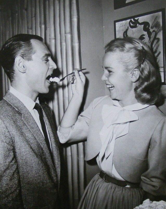 Tuesday Weld and Ray Anthony in The Five Pennies (1959)