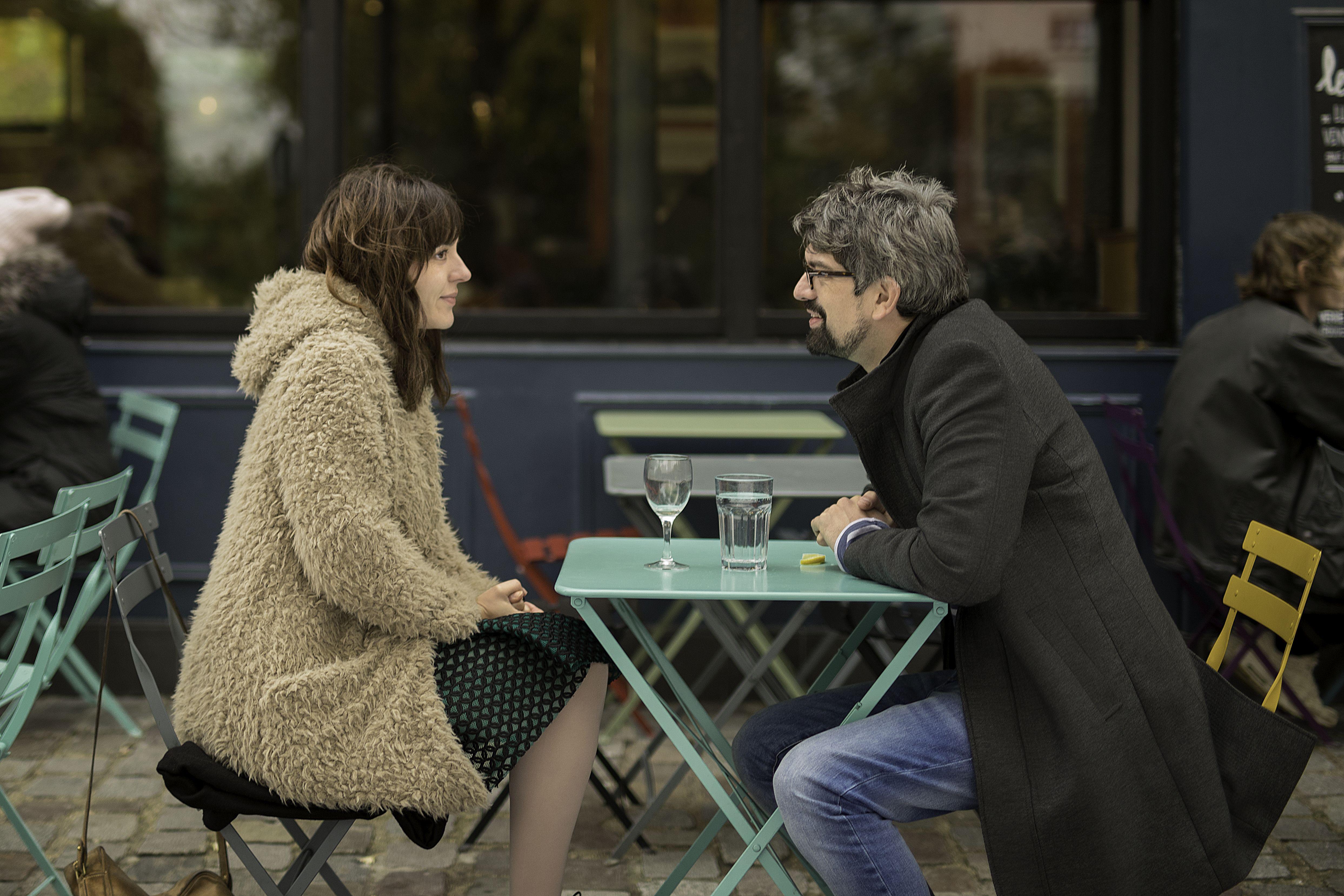 Fabrice Adde and Monia Chokri in Emma Peeters (2018)