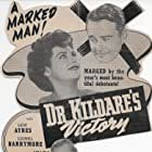 Lew Ayres, Lionel Barrymore, and Ann Ayars in Dr. Kildare's Victory (1942)