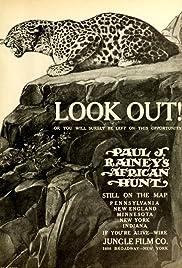 Paul J. Rainey's African Hunt Poster