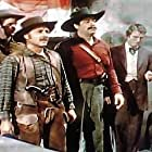 James Best, Charles Drake, Terry Frost, and Glenn Strange in Comanche Territory (1950)