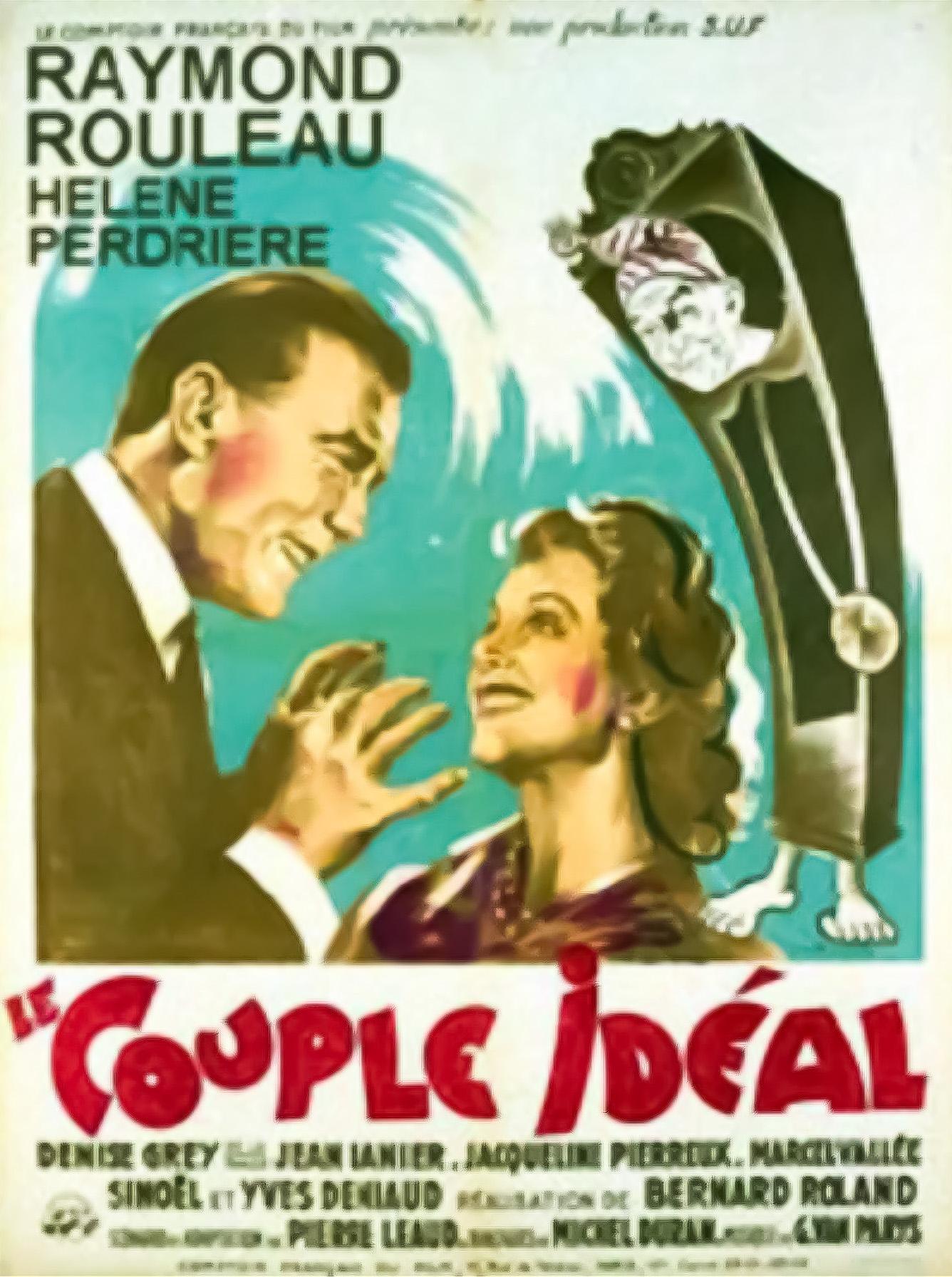 Hélène Perdrière and Raymond Rouleau in Le couple idéal (1946)