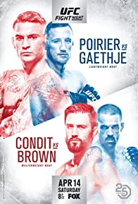 Primary photo for UFC on Fox: Poirier vs. Gaethje