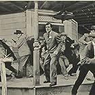Richard Long in Fury at Gunsight Pass (1956)