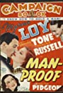 Man-Proof (1938) Poster