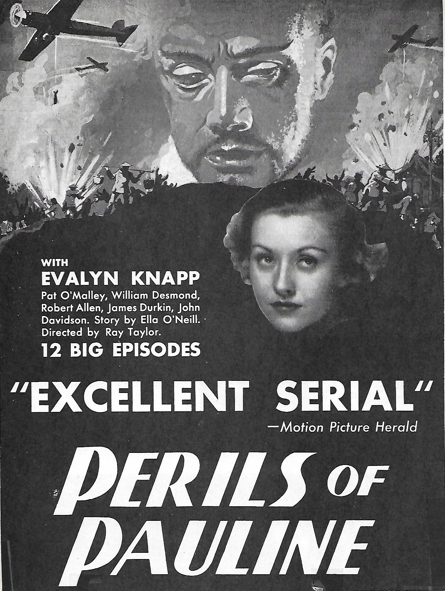 John Davidson and Evalyn Knapp in Perils of Pauline (1933)
