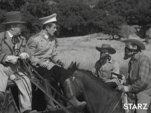 Lloyd Corrigan, Steve Rowland, and William Tannen in The Life and Legend of Wyatt Earp (1955)