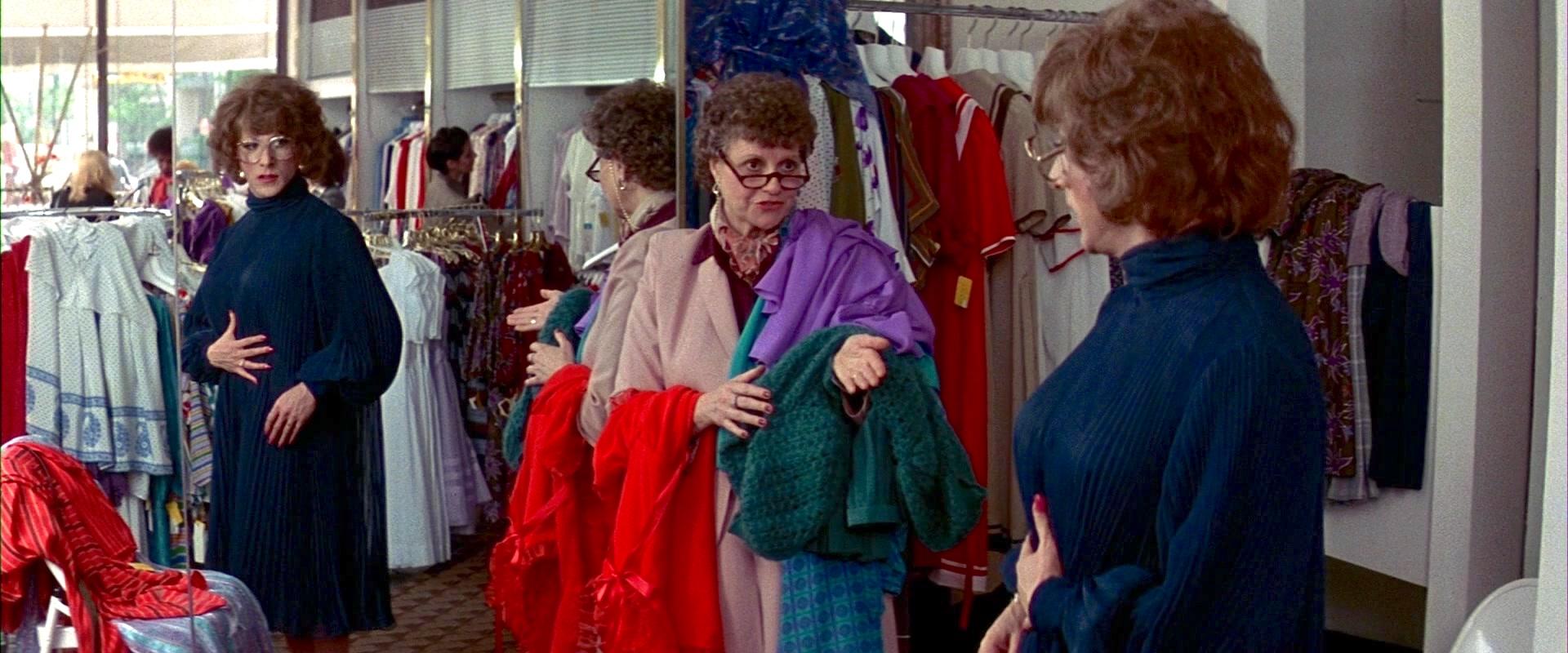 Dustin Hoffman and Marjorie Lovett in Tootsie (1982)