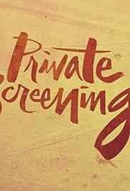 Private Screenings Poster