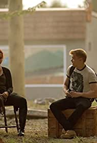 Levi Meaden and Sarah Dugdale in Aftermath (2016)