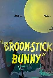Broom-Stick Bunny Poster