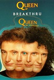 Queen: Breakthru Poster