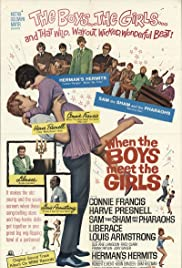 When the Boys Meet the Girls (1965) Poster - Movie Forum, Cast, Reviews