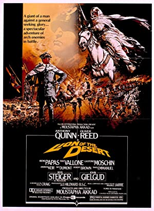 Lion of the Desert Poster Image