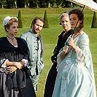 Edouard Baer, Cécile de France, Natalia Dontcheva, and Alice Isaaz in Mademoiselle de Joncquières (2018)