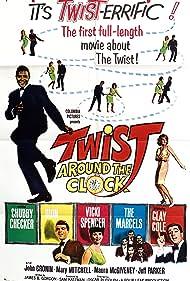 Twist Around the Clock (1961) Poster - Movie Forum, Cast, Reviews