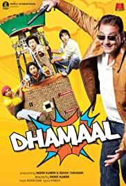 Dhamaal | 2007 | 1 GB | Hindi | DVDRIP | 720p