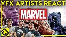 Los artistas de efectos visuales reaccionan a MARVEL Bad & Great CGi