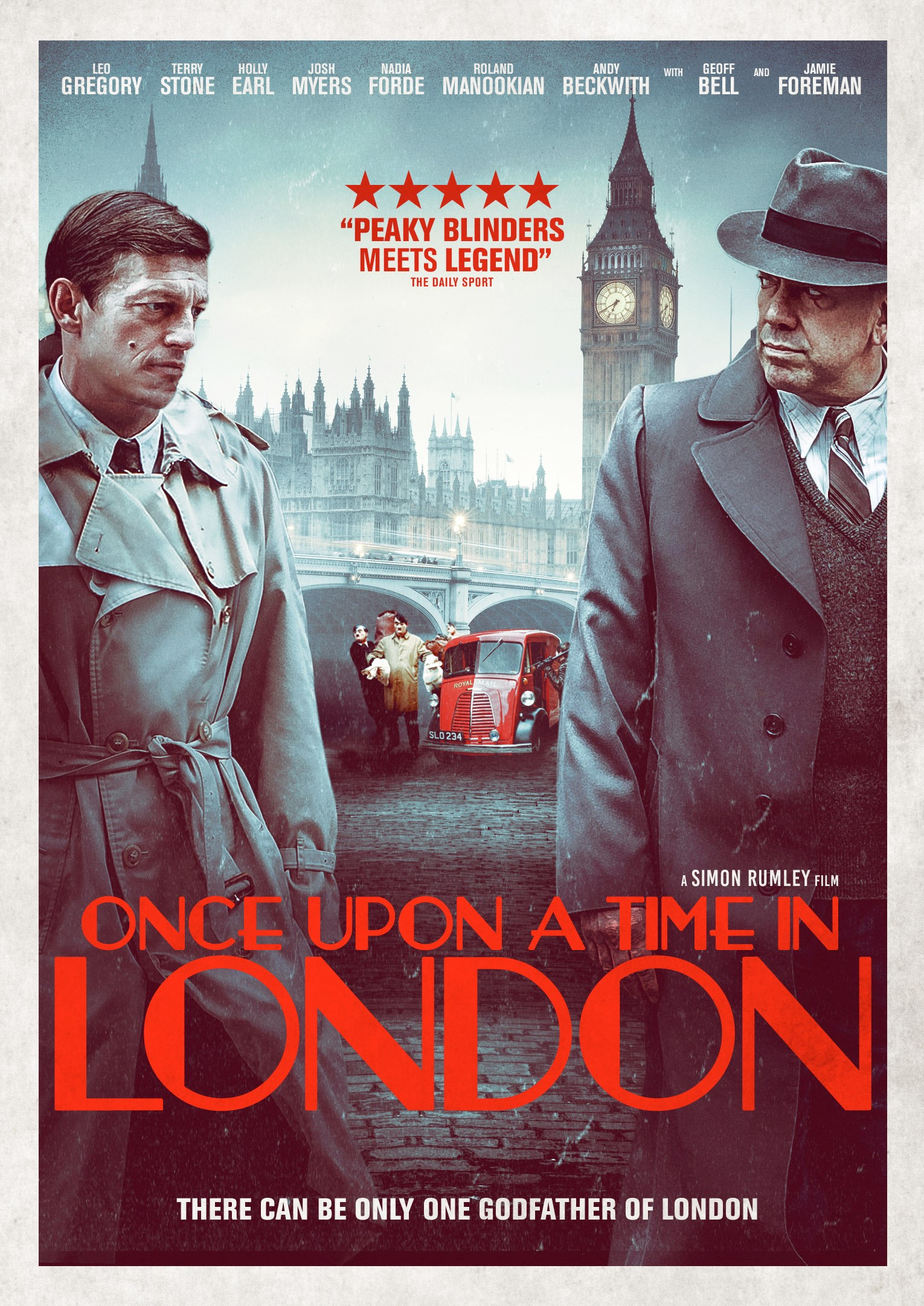 KARTĄ LONDONE (2019) / ONCE UPON A TIME IN LONDON