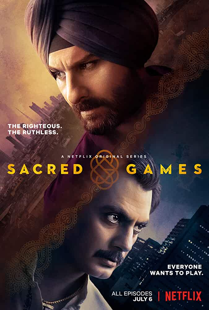 [18+] Sacred Games (2018) Season 1 UNRATED Hindi 720p WEBRip DD5.1 x264 ESubs