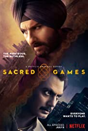 View Sacred Games - Season 1 (2018) TV Series poster on Ganool