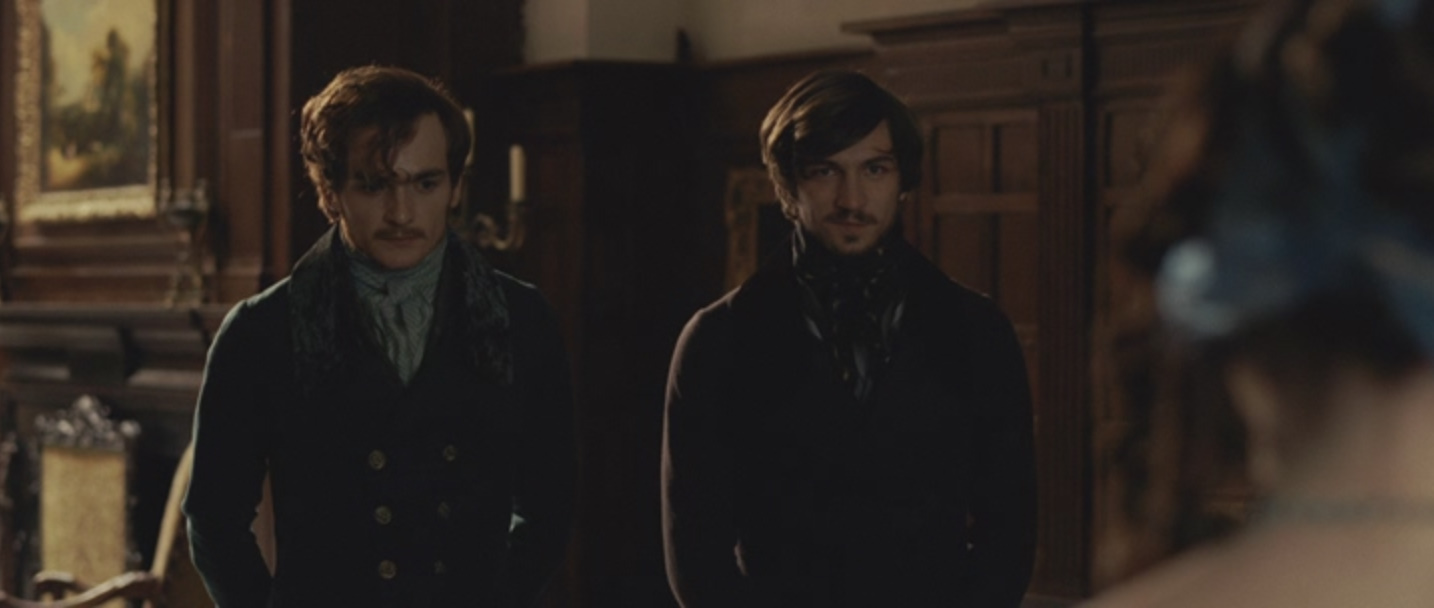 Michiel Huisman and Rupert Friend in The Young Victoria (2009)