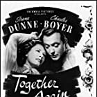 Charles Boyer and Irene Dunne in Together Again (1944)