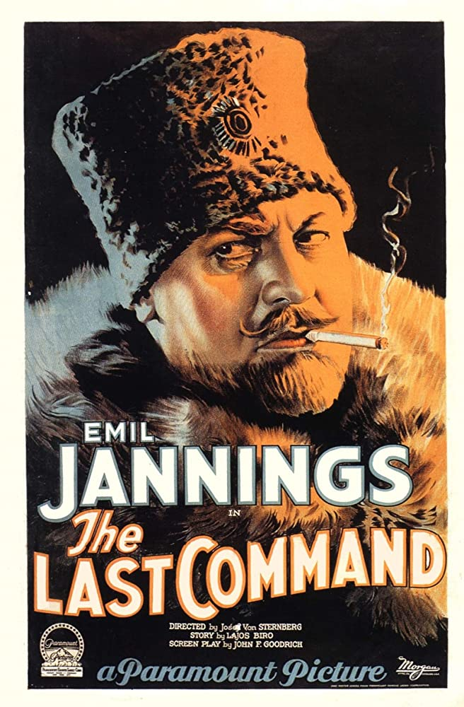 Emil Jannings in The Last Command (1928)