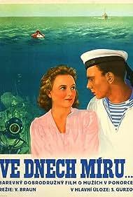 Lidiya Dranovskaya and Sergei Gurzo in V mirnye dni (1951)