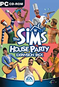 The Sims: House Party Poster - Movie Forum, Cast, Reviews