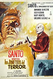Santo vs. the Riders of Terror Poster