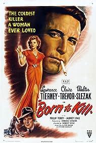Walter Slezak, Lawrence Tierney, and Claire Trevor in Born to Kill (1947)