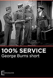 100% Service (1931) starring George Burns on DVD on DVD