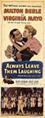 Always Leave Them Laughing (1949) Poster